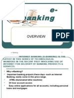 Internet Banking (E-banking)