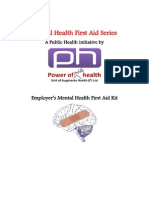 Employers Mental Health First Aid Kit MHFAS