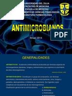 1era Clase - Generalidades de La Terapia Antibacteriana. Anual 2014