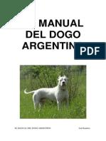 El Manual Del Dogo Argentino