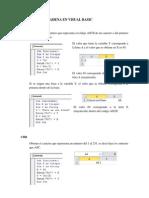 Funciones de Cadena en Visual Basic