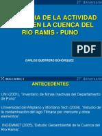 Influenciadelaactividadmineraenlacuencadelroramis Puno 120411104540 Phpapp02