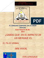 Pres El Lenguaje Corporal en La Labor Policial JFS