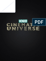Wonder Cinematic Universe Conference