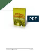 Affiliate Marketing Schnellstart