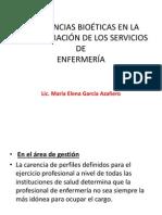 Implicancias Bioéticas en La Administración de Los Servicios