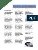 technology newsletter 2