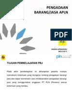 Pengadaan Barang & Jasa APLN