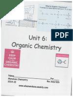 organic chem packet