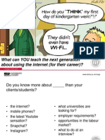 What Can YOU Teach the Next Generation About Using the Internet