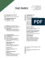 Resume/Design Statement
