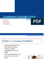 learning disabilities 1 1