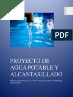 Proyecto de Agua Potable y Alcantarillado Final