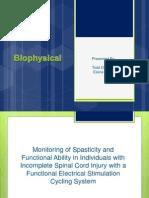 biophysical presentation