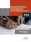 Citizen Report Card Survey on Free Education Services in Vavuniya and Mullaitivu Educational Zones