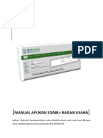 User Manual Aplikasi EDaBU