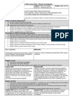 lesson plan - greenhouse webquest