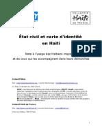 Etat Civil Haiti
