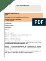 Formato Para Fichas de Investigación