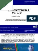 EVR Electricals pvt LTD -Transfomer Division