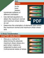 Ch09 Stress Transformation