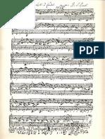 Bach BWV 998 Manuscrito