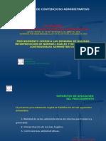 (4) Procedimiento Comun Nulidad, Interpretacion y Controversias Administrativas
