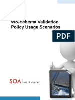 Ws Schema Validation Policy Use Cases