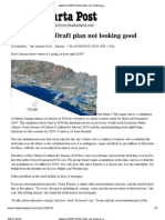 The Jakarta Post Draft Plan Not Looking Good