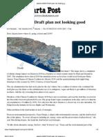 The Jakarta Post Draft Plan Not Looking Good