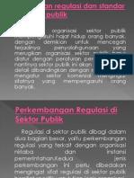 Regulasi Dan Standar Di Sektor Publik