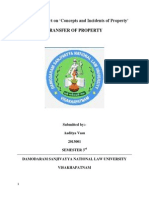 Concepts and Incidents of Property