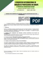 Normas Comissu00e3o Cientifica 29 de Novembro 1