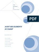 Audit Des Elements Du Passif