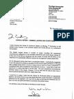 Chris Grayling to Geoffrey Cox MP 4 Dec