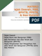 Pajak Daerah, PBB, BPHTB, PPhTB, Bea Meterai Ver 2 (1)