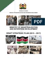 Draft Strategic Plan 2013 2017