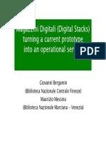 Magazzini digitali (digital stacks)