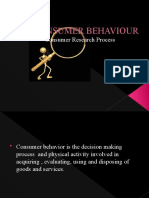 Consumer Behaviour-Research Process