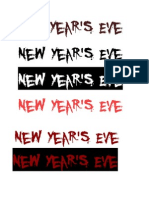 11. New Year's Eve Fonts