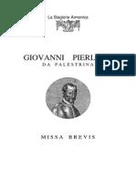 Palestrina - Missa Brevis