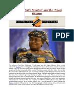 Globesity Fat's Frontier' and the 'Ngozi Okonyo