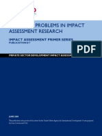 ML5826 Impact Assessment Primer Series 7