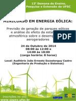 Mini-Curso Energia Eólica UFSC - SEPEX 2014