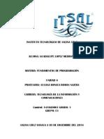 Unidad 4 INVESTIGACION Programacion Orientada a Objetos y Modelado