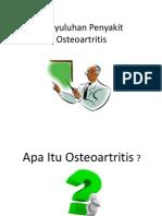 Penyuluhan Penyakit Osteoartritis