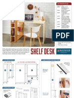 53114 Shelf Desk Plan