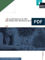 La fonction et le rôle des hôtes des Pensions de famille