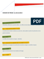 Dossier de Presse 05-12-2014 [Version Actualisee - 3-4]