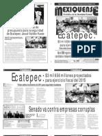 Diario El mexiquense 10 Diciembre 2014